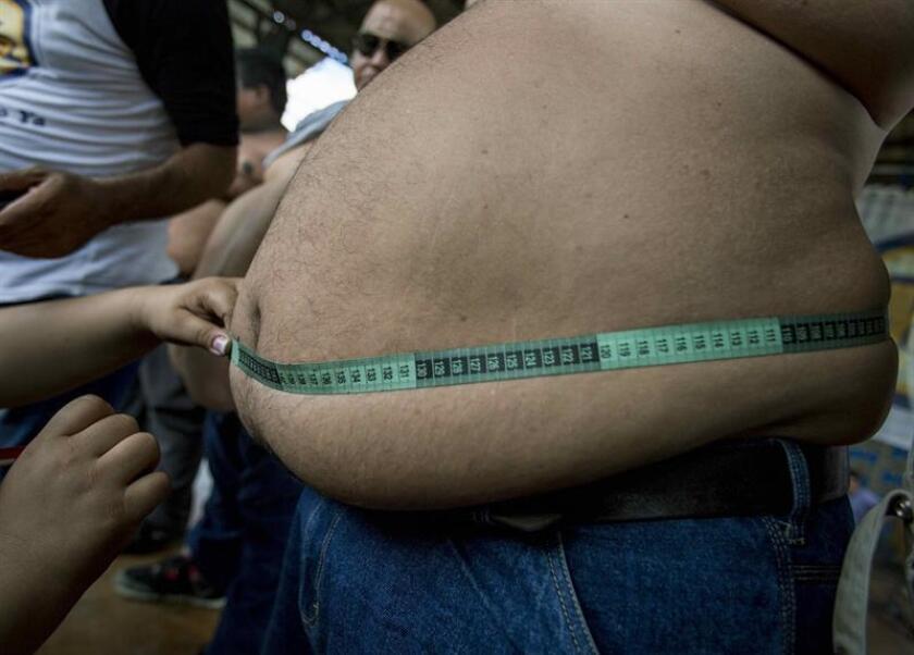 Un estudio que explora las barreras y las perspectivas que rodean la obesidad con el fin de educar y hacer conciencia sobre esta enfermedad en el mundo fue presentado hoy en Nashville (Tennessee), en el marco de la Obesity Week 2018. EFE/ARCHIVO
