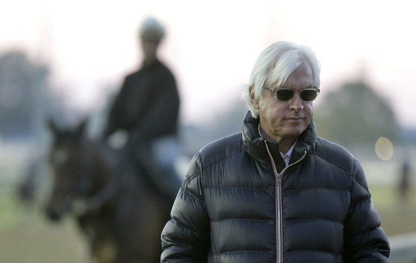 Trainer Bob Baffert's horses, Thousand Words and Bast, won their race on Saturday at Los Alamitos.