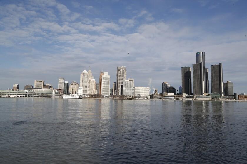 Virus Outbtreak Detroit Finances