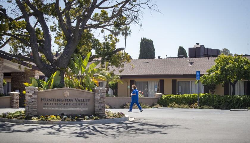 Huntington Valley Healthcare Center in Huntington Beach.