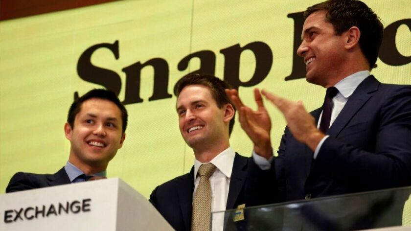 NEW YORK, NEW YORK--MARCH 2, 2017--Snap Inc. will make it's debut on the New York Stock Exchange on