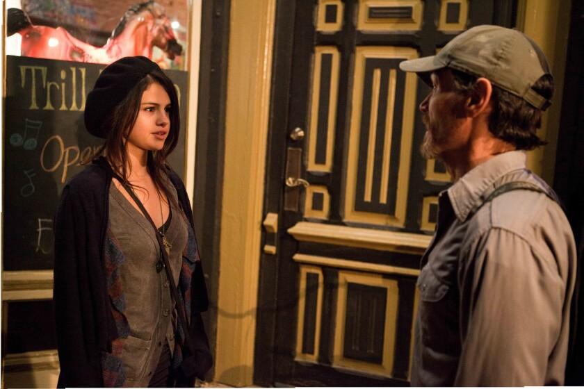 "Selena Gomez as Kate and Billy Crudup as Sam in ""Rudderless."""