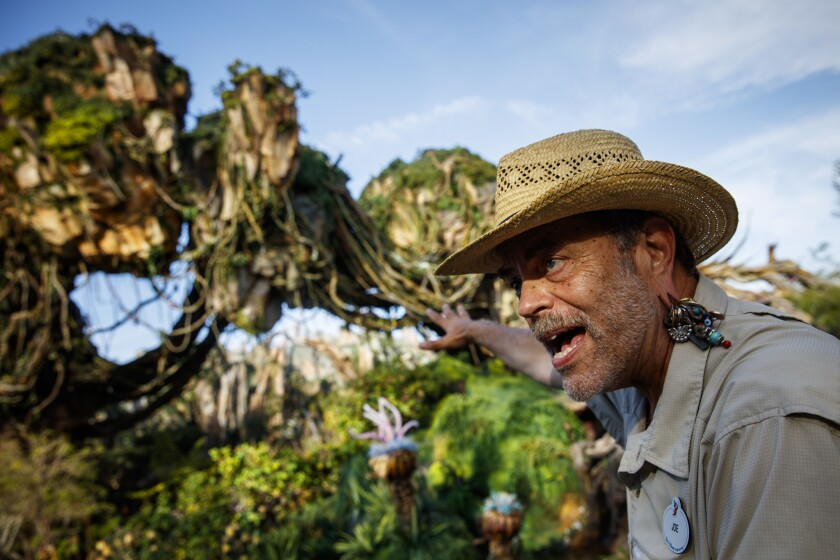 Joe Rohde, lead Disney Imagineer of Pandora - The World of Avatar.