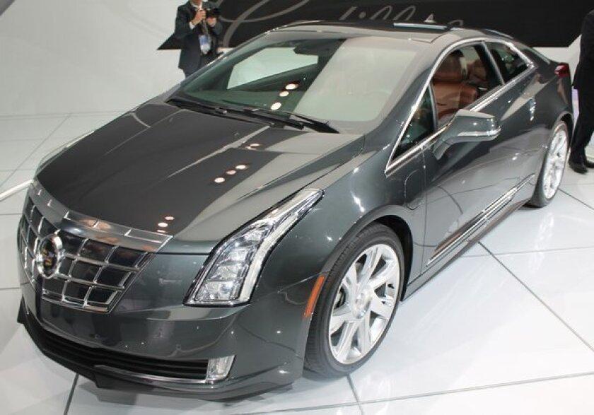 Detroit Auto Show: Cadillac unveils ELR plug-in hybrid - Los Angeles