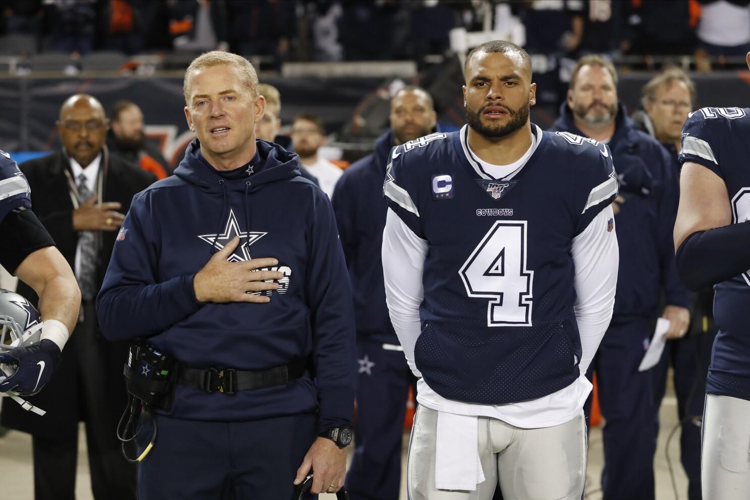 Cowboys Players Ponder Kneeling During National Anthem The San Diego Union Tribune