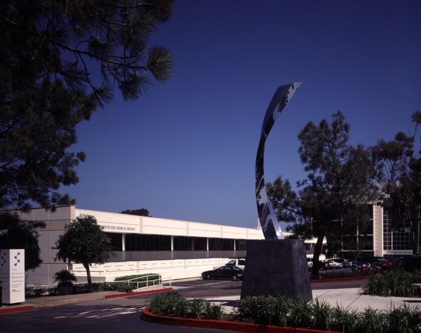 The Scripps Research Institute in La Jolla.