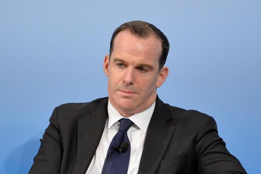 Brett McGurk, Special Presidential Envoy for the Global Coalition to Counter ISIL of the US Department of State. EFE/EPA/FILE