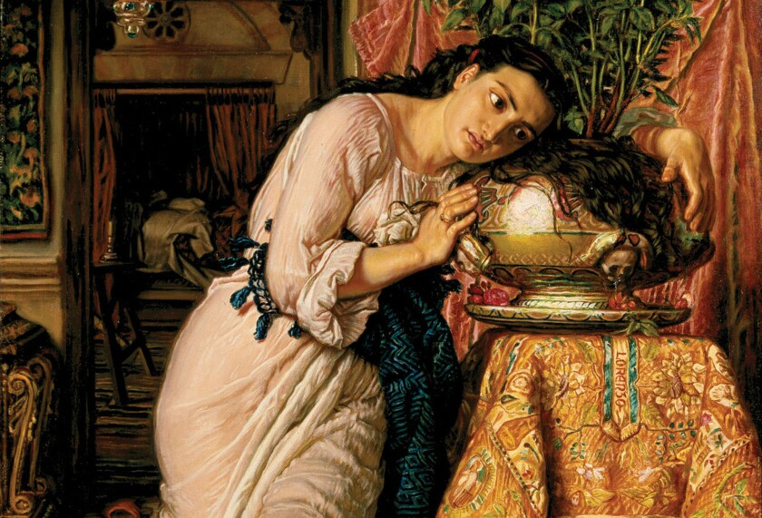 "Delaware Art Museum sold its William Holman Hunt painting ""Isabella and the Pot of Basil"" (1868) to help pay off debt and build its endowment."
