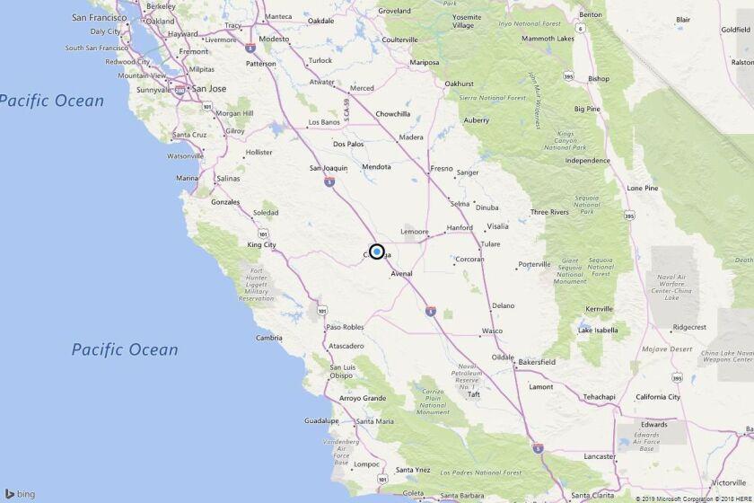 Earthquake: 3.3 quake strikes near Turk, Calif.