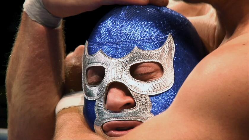 """Blue Demon Jr. es uno de los participantes en el documental """"Lucha México"""", que se estrena esta semana en diversos puntos de la Unión Americana."""