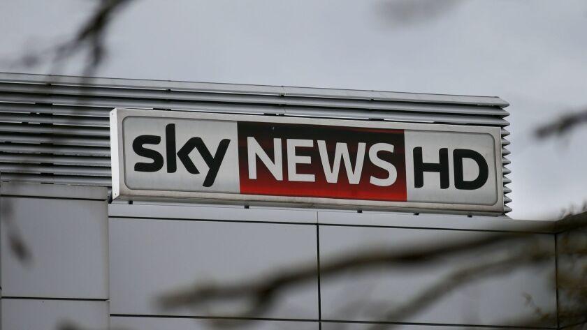 Sky TV's headquarters in London.