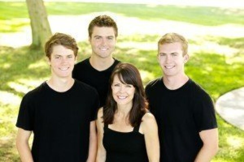 Angie, Charlie, Christian and Scotty Gange