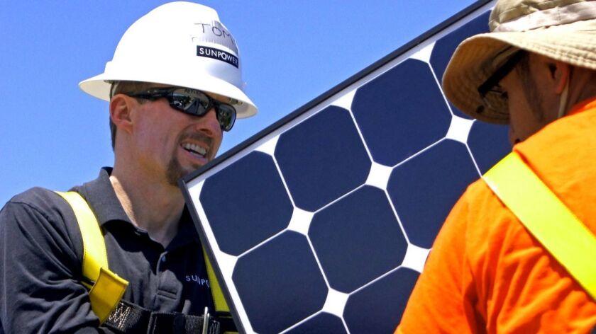 Solar panel maker SunPower is buying tariff-loving rival that hurt its sales