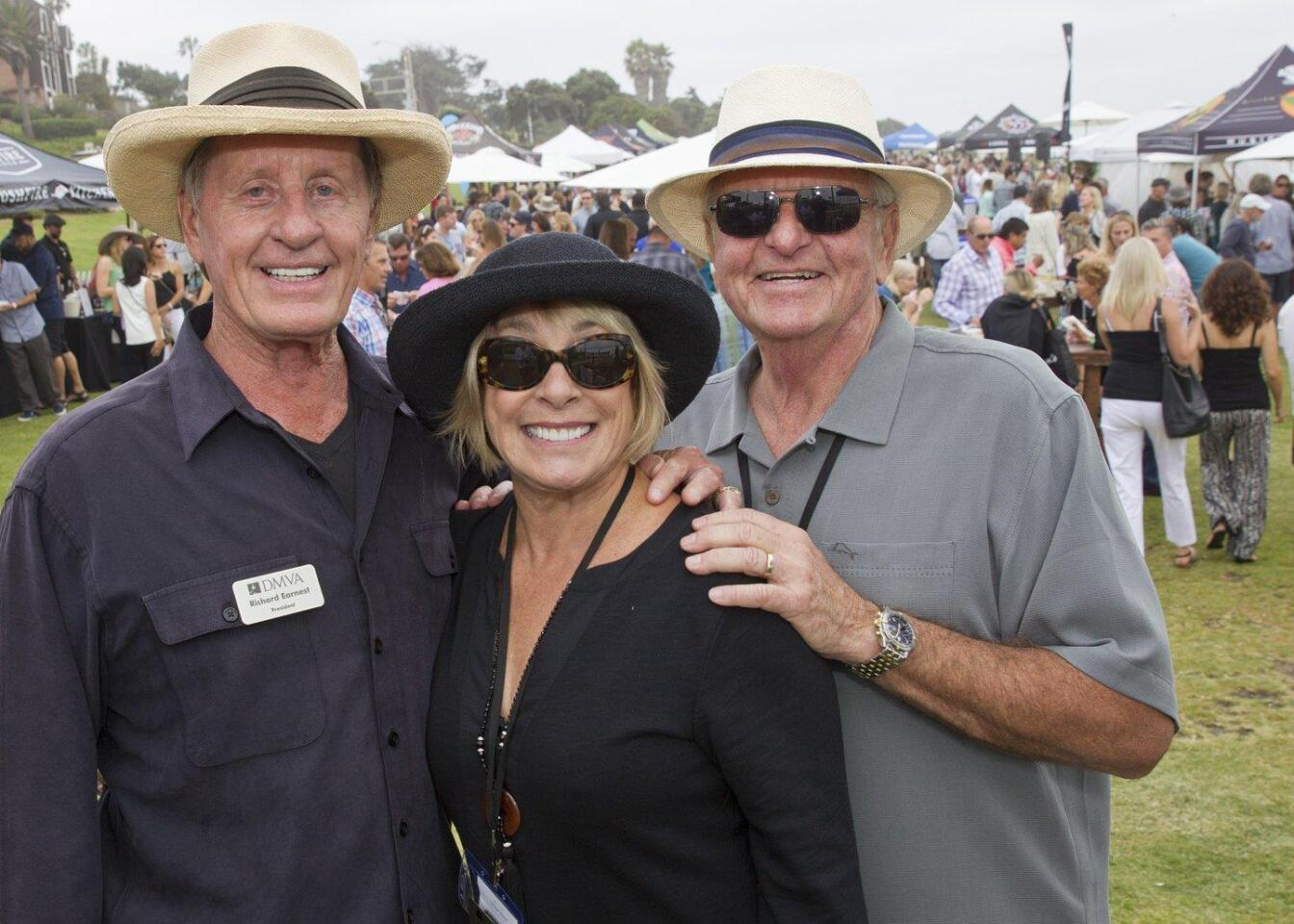 Richard Earnest, Karen Powell, Jim Coleman