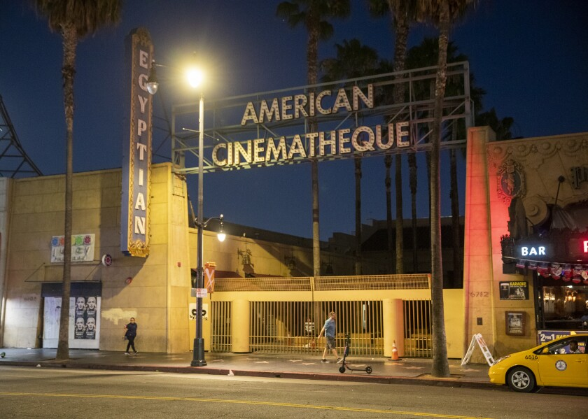 The American Cinematheque -The Egyptian Theatre at 6712 Hollywood Blvd