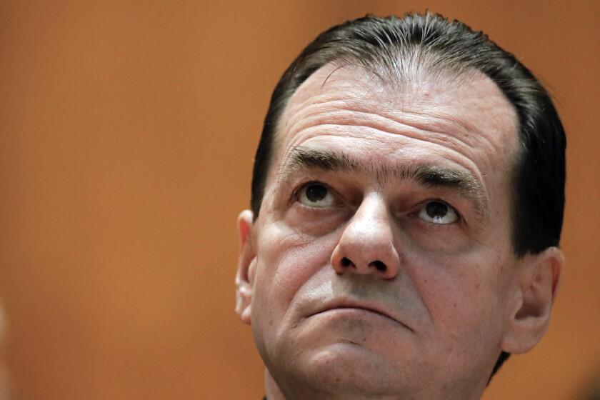 Romania Politics Orban