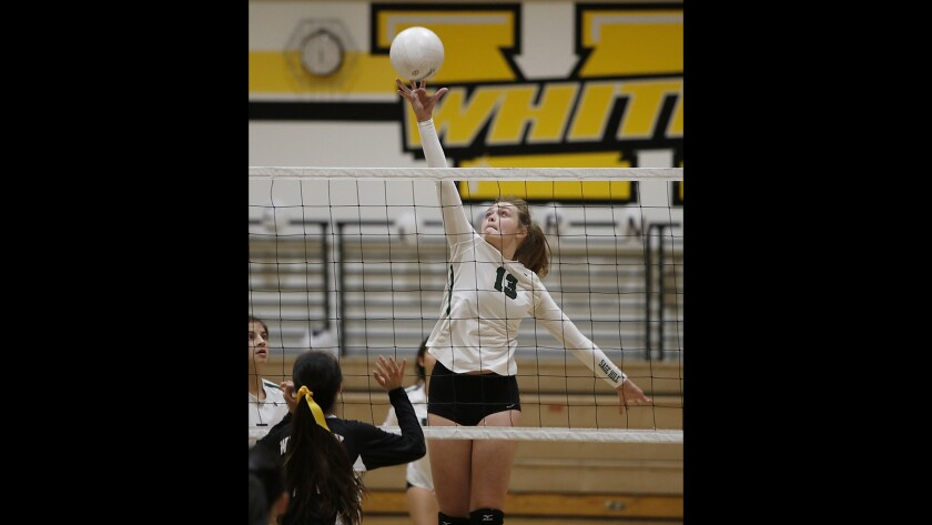Photo Gallery:  Sage Hill School vs. Whitney girls' volleyball