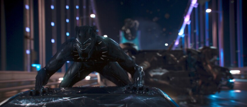 "The Black Panther is King T'Challa of Wakanda in Marvel's Oscar-nominated mega-hit ""Black Panther."""