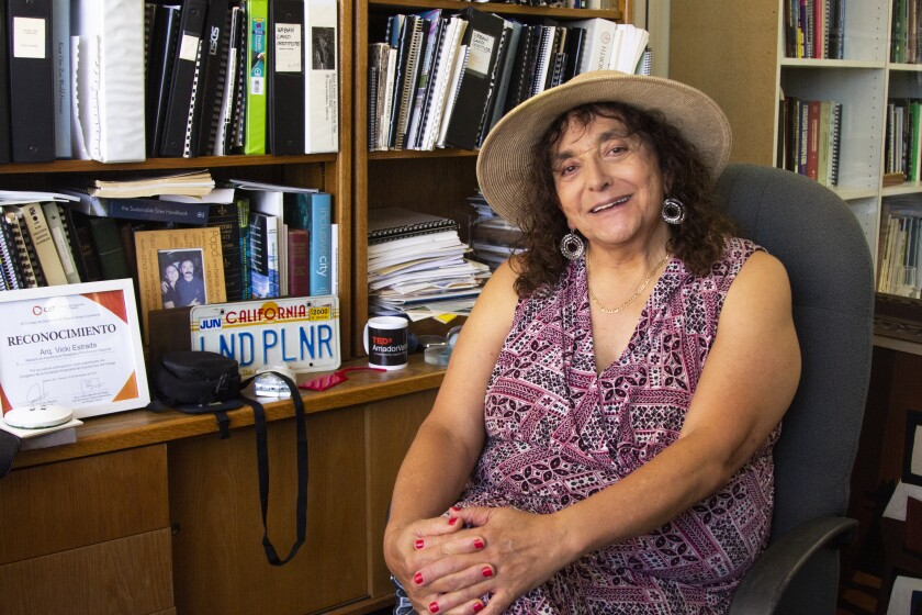 Vicki Estrada, presidenta y fundadora de Estrada Land Planning, en su despacho de Symphony Towers
