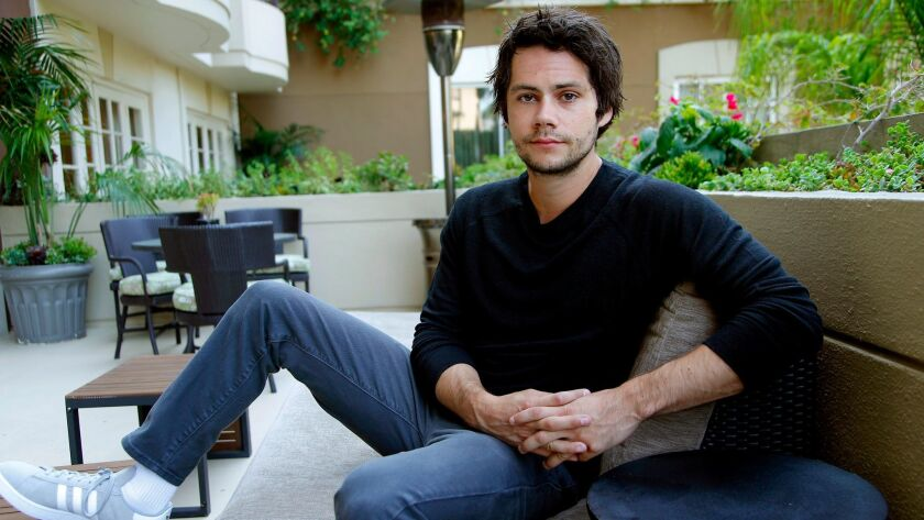 WESTWARD, CA., AUGUST 29, 2017-- Actor Dylan O'Brien, OF TEEN WOLF fame, has his first adult leading