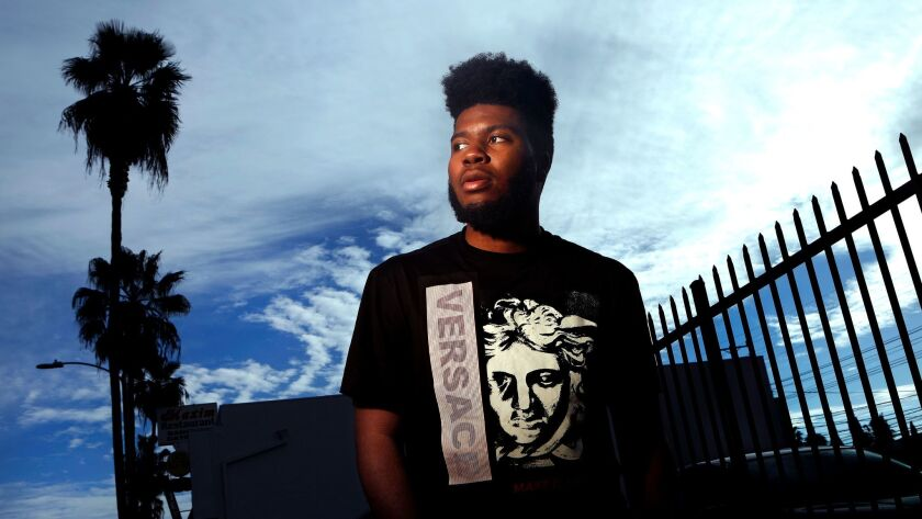R&B singer Khalid plans to perform a benefit concert in his hometown of El Paso.