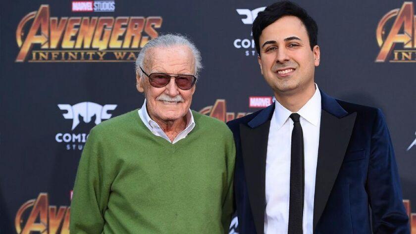 Stan Lee, Keya Morgan