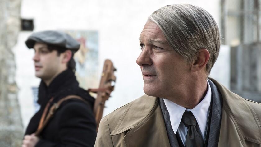 "Alex Rich, left, and Antonio Banderas in ""Genius: Picasso"" on National Geographic."