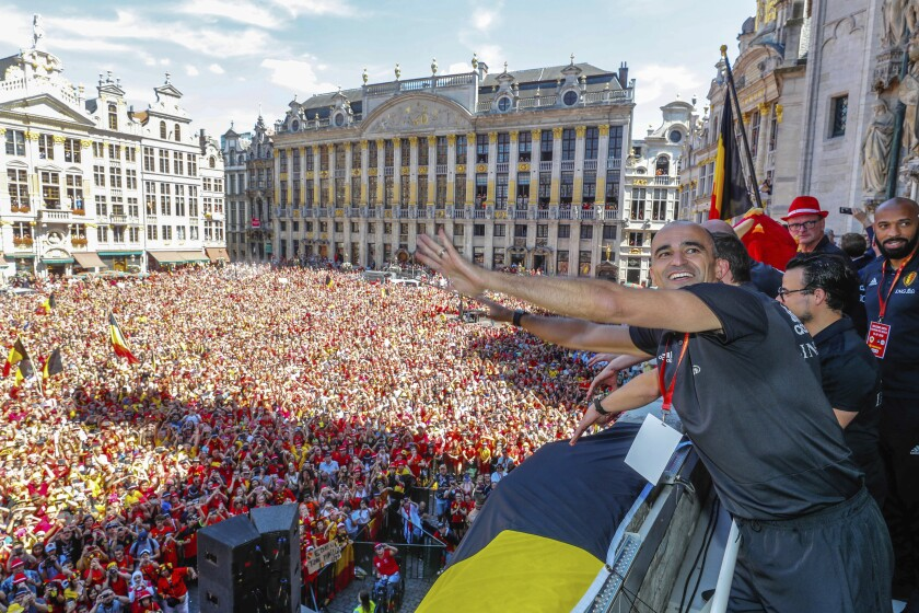 Belgium Soccer Coach