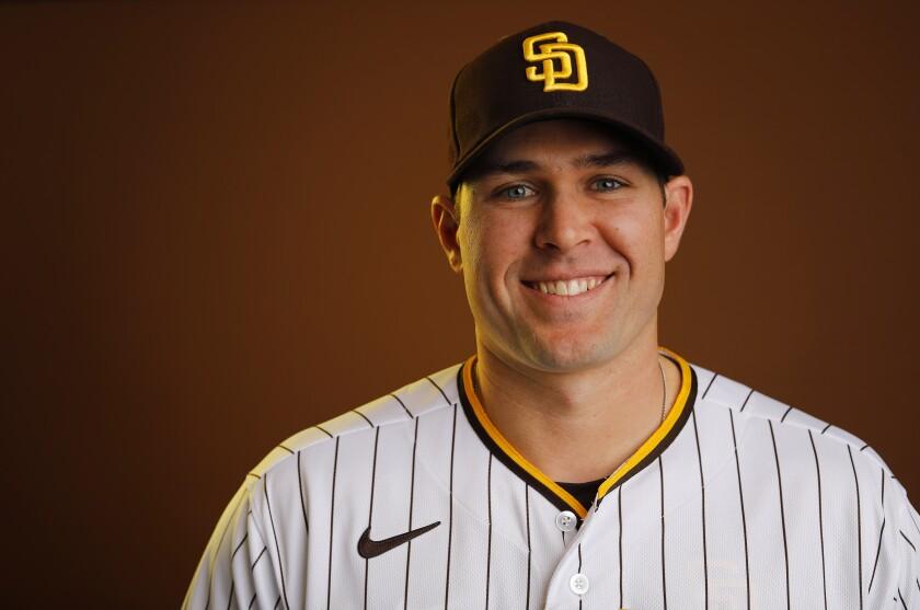 San Diego Padres pitcher Craig Stammen.