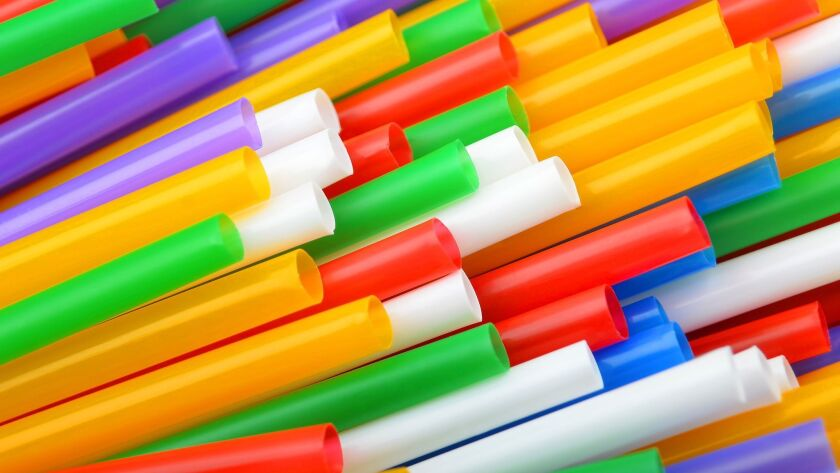 Environmental groups say that up to 500 million plastic beverage straws are used every day in the United States,