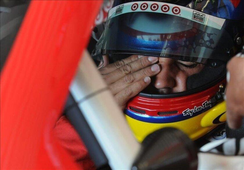 En la imagen, el piloto colombiano Juan Pablo Montoya. EFE/Archivo