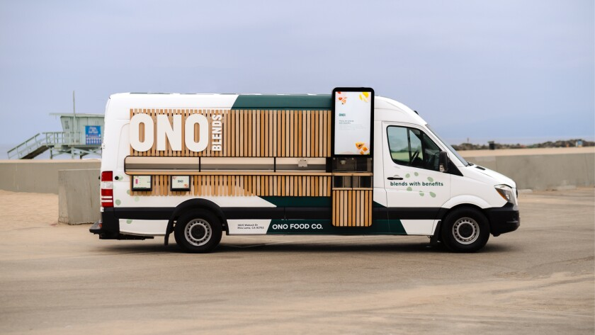 Ono Food Co.'s automated smoothie truck