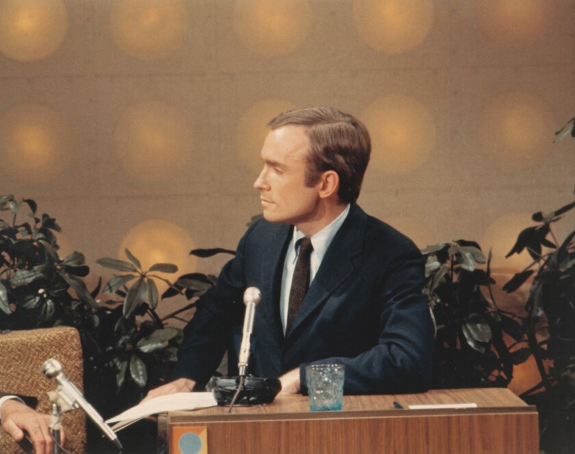 Review: 'Dick Cavett's Watergate' is a showcase of TV host's tenacity