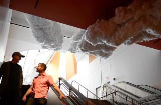 Yuval Sharon debuts art installation at Disney Hall
