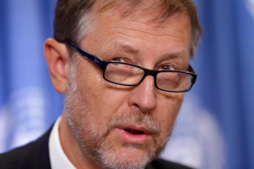 El representante en México del Alto Comisionado de la ONU para los Derechos Humanos, Jan Jarab. EFE/Archivo