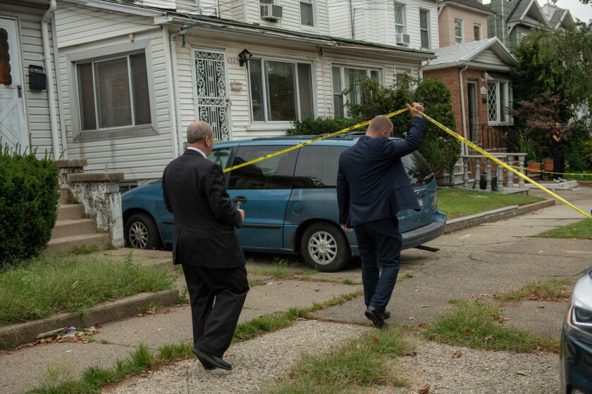 Sherod Watford was found dead inside a house on Avenue M in Brooklyn on Sunday.