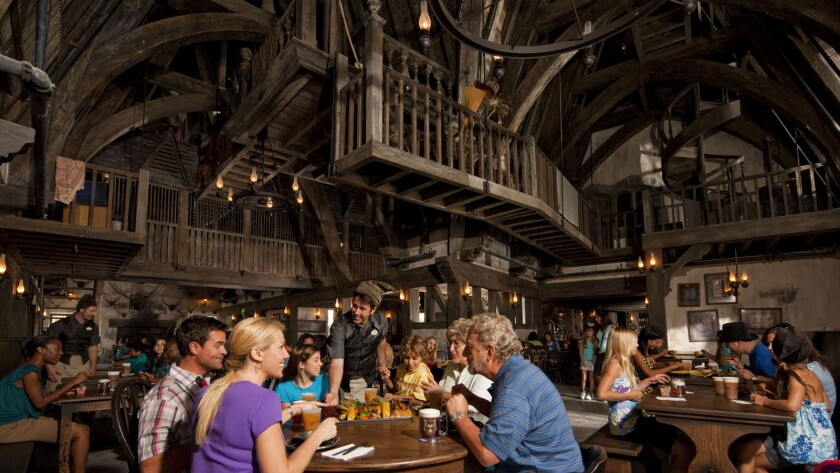 The Three Broomsticks at the Wizarding World of Harry Potter.