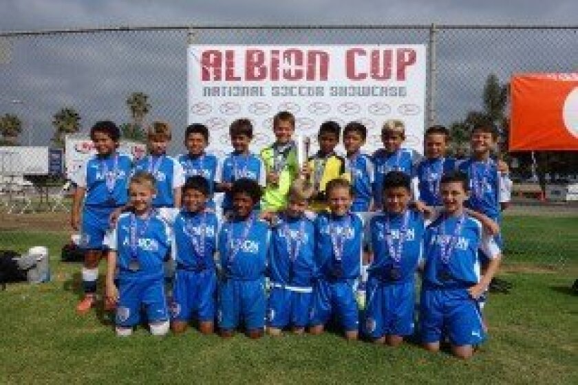 Top row (L-R): Angel Cortez, Ryan Flather, John Paul Molina, Keegan Ferreira, Cameron Brown, Abraham Ramirez, Billy Cherres, Andrew Mitchell, Tyler Watson and Simon Sagal. Bottom row: Tommy Musto, Angel Jaimes, Isaac, Evan Rotundo, Noah Dougher, Kai Walsh and Jackson Miller. Not pictured: Coach Wayne Crowe