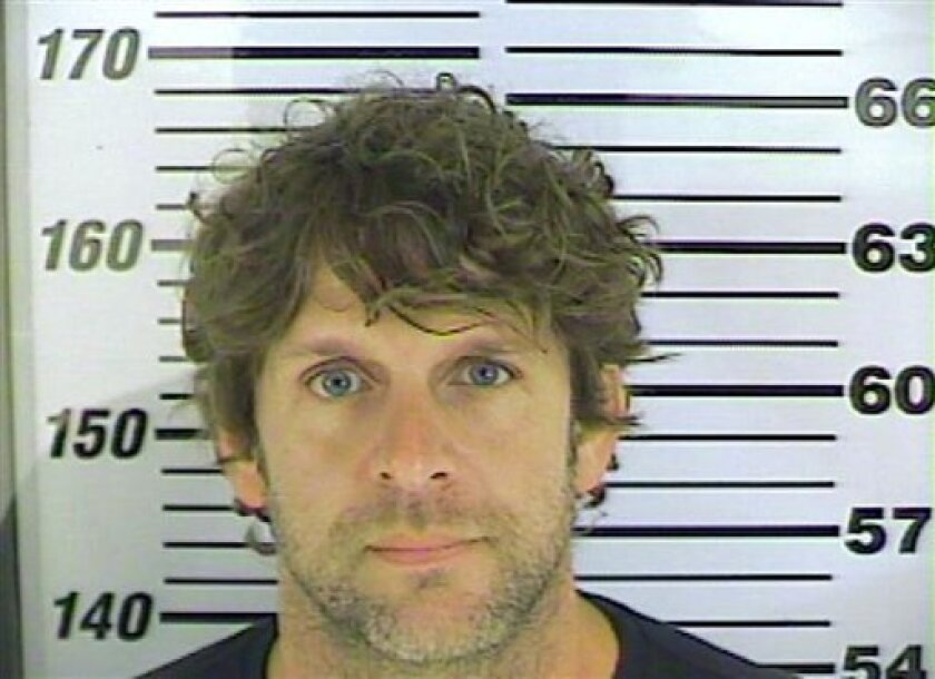 "In this undated photo released by the Chatham County (Ga.) Sheriff's office, Billy Currington poses for a photo. Currington, 39, may have videotaped himself chasing a 70-year-old tour boat captain along a coastal Georgia creek and threatening to ""finish him off"" in a tirade filled with profanities,"