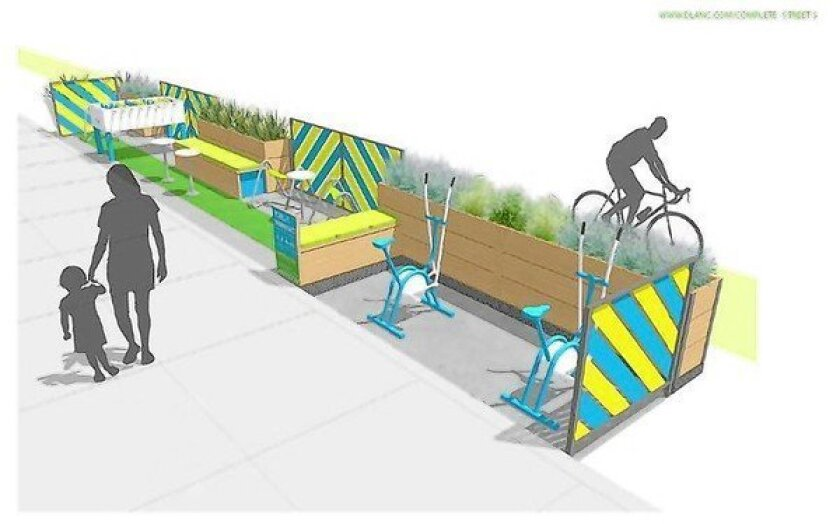 Los Angeles to try out 'parklets' at four locations