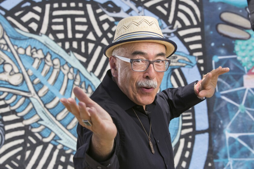 U.S. poet laureate Juan Felipe Herrera will receive the Robert Kirsch Award for Lifetime Achievement at the 36th L.A. Times Book Prizes in April.