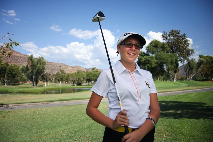 El Capitan sophomore Breann Horn has been the medalist in each match she's played this season.