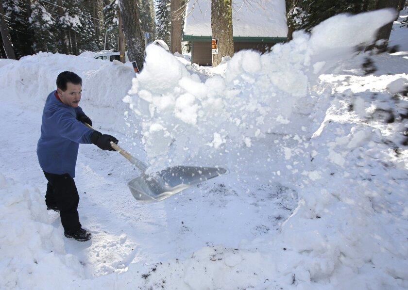 California Drought Snowpack Survey