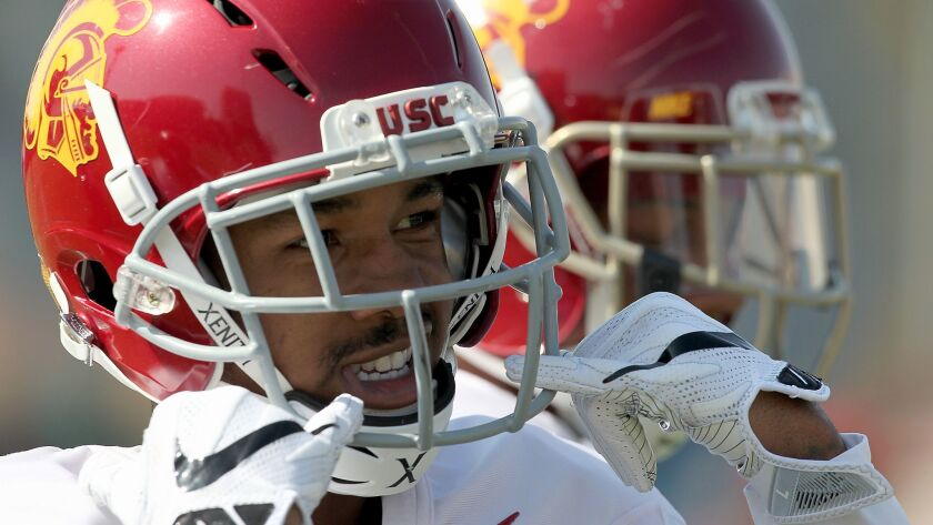 Cornerback Jack Jones is expected to start for USCs in 2017, taking the spot vacated by Adoree' Jackson.