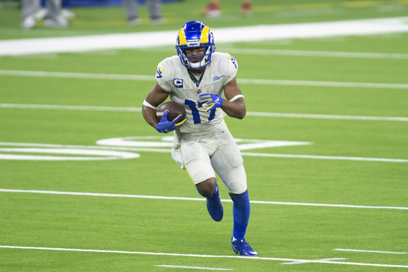 Rams receiver Robert Woods clearly has outperformed his current contract. Will he get a new deal?