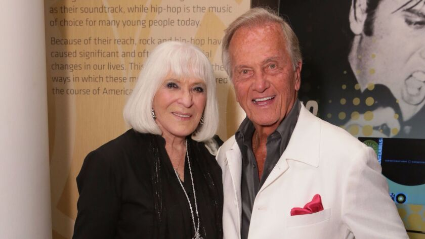 Pat Boone, pictured with wife Shirley Boone, will perform at The Coach House in San Juan Capistrano on Sept. 23. The appearance will mark his 60th anniversary in show business.