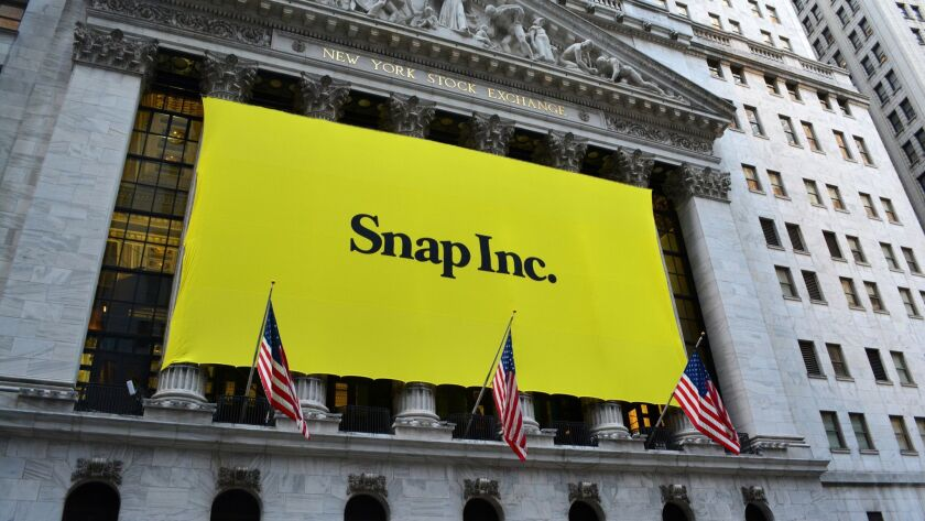 Shares of Snap Inc. nosedive after poor quarterly earnings report