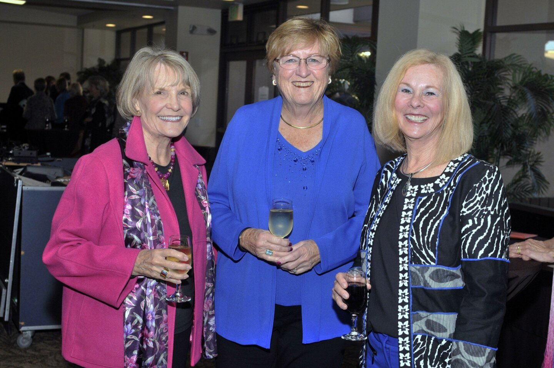 Diane Larsen, Angela Hitch, Marilyn Battaglia