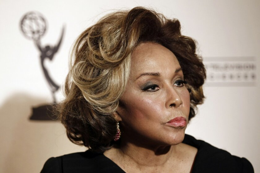 Legendary actress and singer Diahann Carroll is receiving the Millennium Award for Lifetime Achievement in Television & Motion Pictures at Saturday's San Diego Black Film Festival awards gala.
