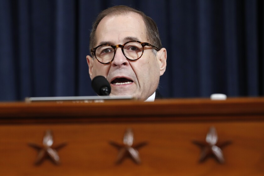 House Judiciary Committee Chair Jerrold Nadler, (D-N.Y.) will hold a hearing on Monday to hear evidence that could lead to articles of impeachment against President Trump.
